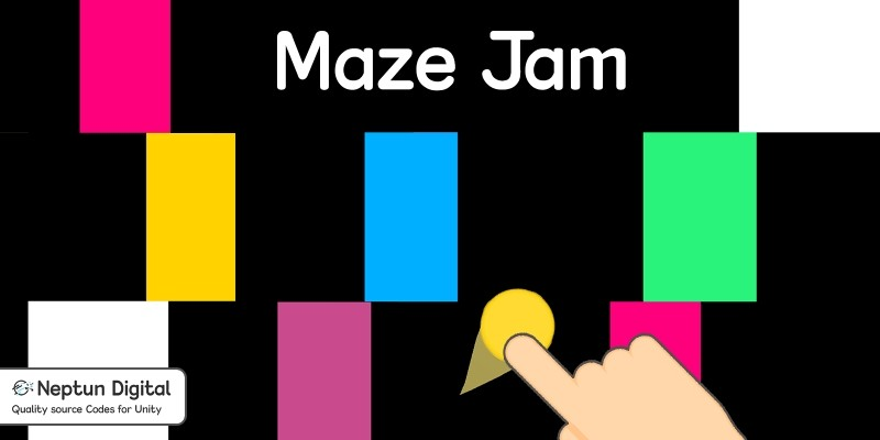 Maze Jam - 2D Game template for Unity