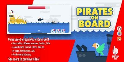 Pirates on Board - iOS Xcode Source Code