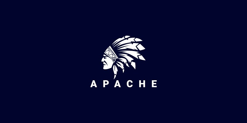Native American Indian Chief Logo