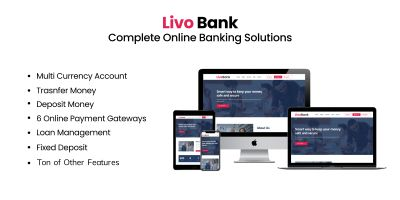 Livo Bank - Complete Banking System