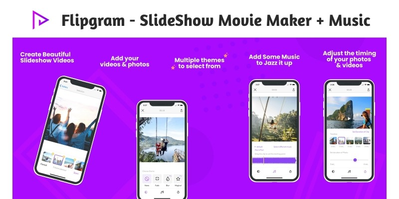 Flipgram - SlideShow Movie Maker iOS