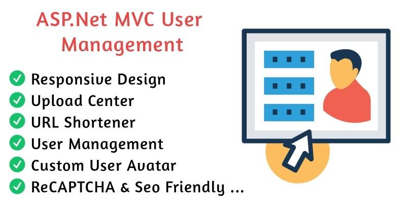 ASP.Net MVC User Management