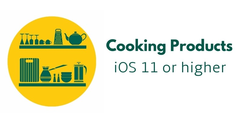 Cooking Products - iOS Source Code