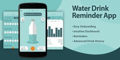 Water Drinking Reminder - Flutter App