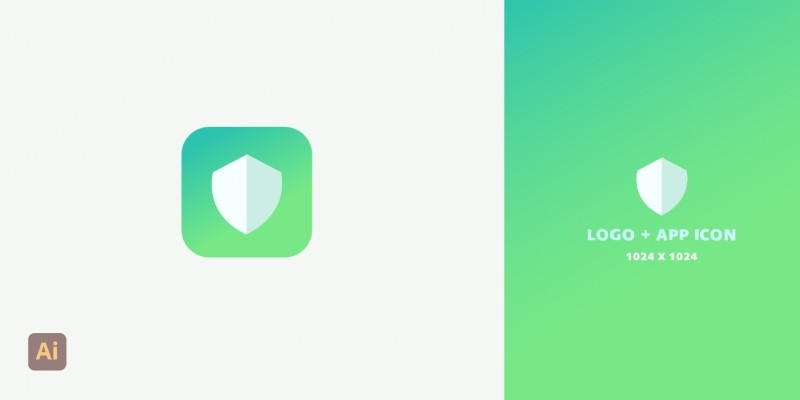 Security App Icon And Logo Design