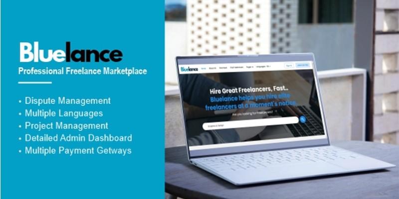 Bluelance - Freelancing Marketplace