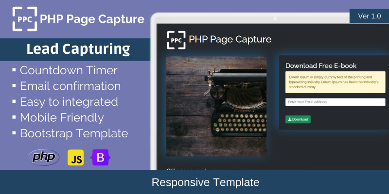 PHP Page Capture