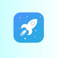 Rocket Logo DesignAnd App Icon