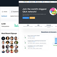 GoTeck - Questions Answers Network PHP Script