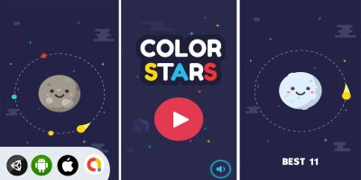 Color Stars - Unity Complete Game