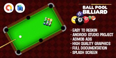 Ball Pool Billiard Android Studio Game