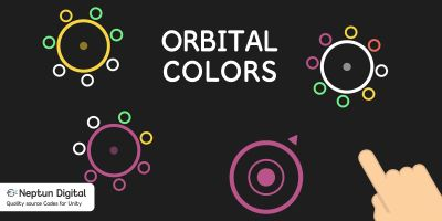 Orbital Colors - 2D Game template for Unity