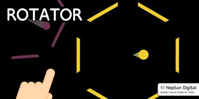 Rotator - 2D Game Template for Unity