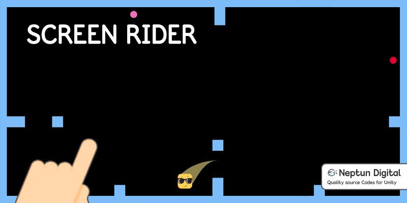 Screen Rider - 2D Game Template for Unity