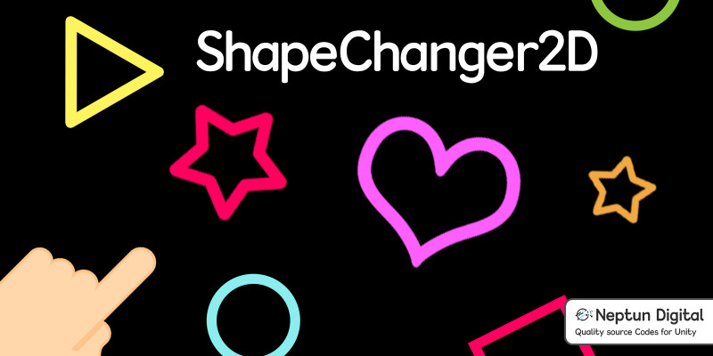 Shape Changer - 2D Game Template for Unity