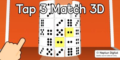 Tap 3 Match - 3D Game Template for Unity