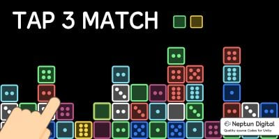 Tap 3 Match - 2D Game Template for Unity