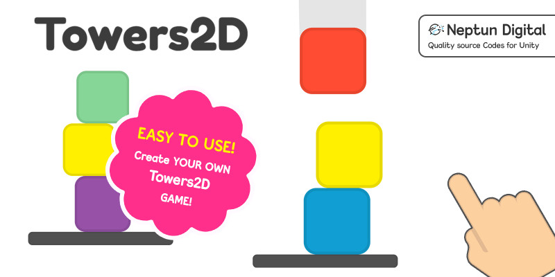 Towers2D - 2D Game template for Unity