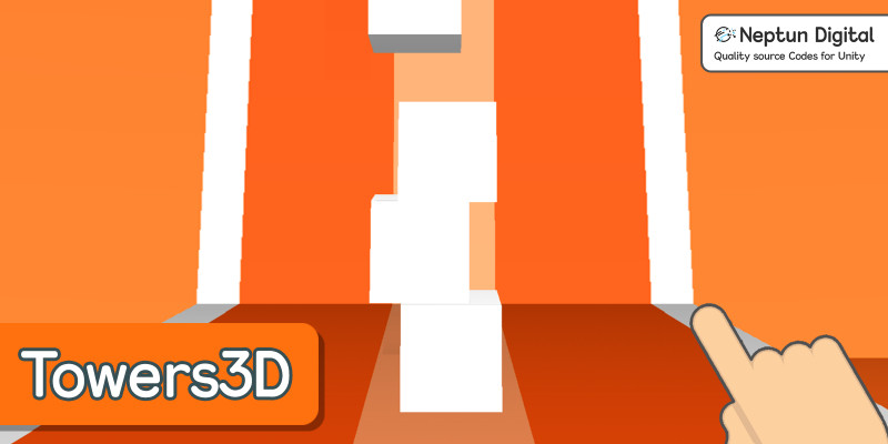 Towers3D - 3D Game Template for Unity