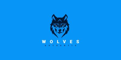 The Wolf Creative Logo Design