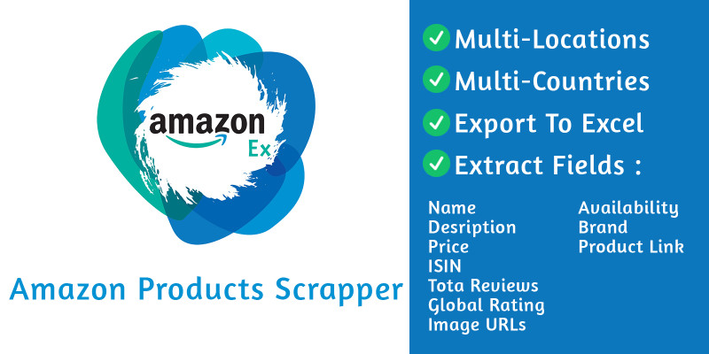 AmazonEx - Amazon Products Scrapper C#