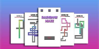 Rainbow Maze - Buildbox Templates