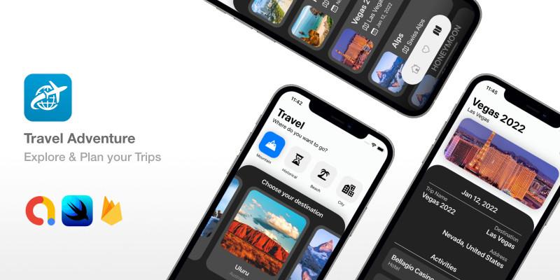 Travel Adventure - SwiftUI Travel Planner App