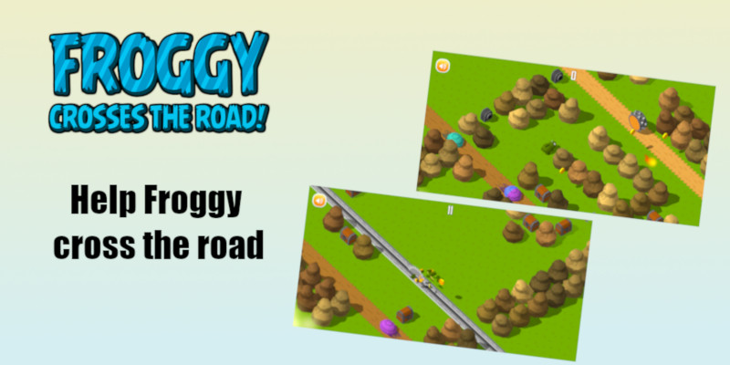 Froggy crosses the road - Complete Unity Game