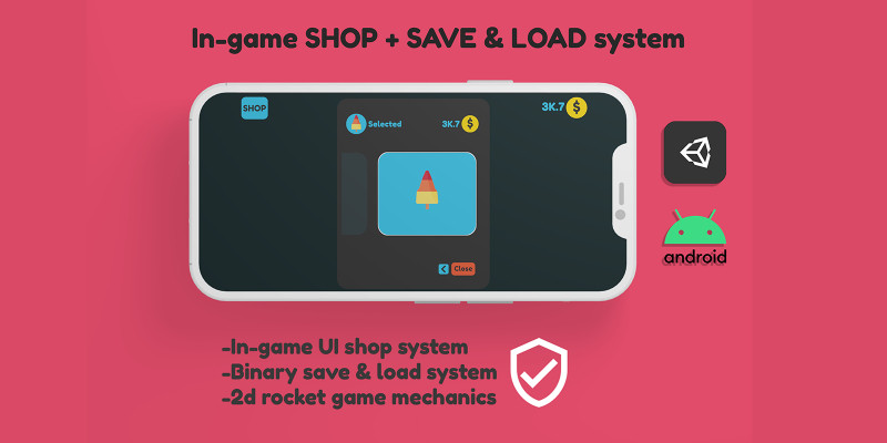 In-game Shop Save And Load System Unity
