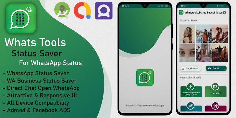 WhatsTools - Toolkit For Whatsapp Android