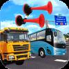 Truck Bus Horn Siren Soundboard Unity App