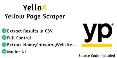 YelloX : Yellow Page Scraper C# Source Code