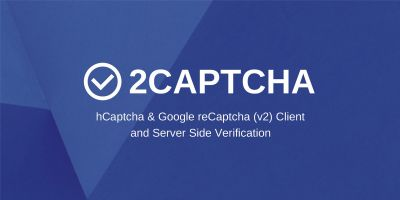 2Captcha - hCaptcha And  Google reCaptcha Client