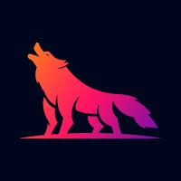 Beast Wolf logo design