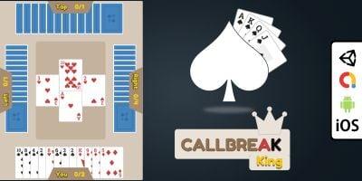 Callbreak - Complete Unity Card Game