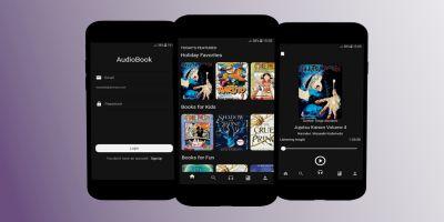 Audiobook - Flutter UI kit