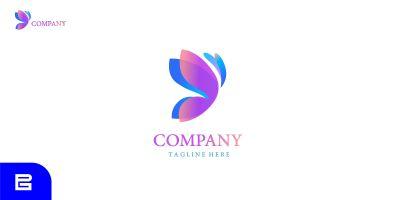 Butterfly Company Logo Design