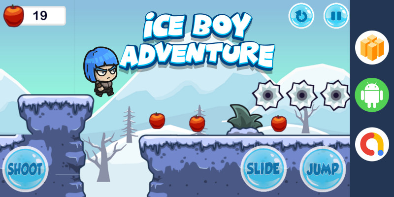 Ice Boy Adventure - Buildbox Game Template BBDOC