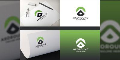 Axoround Letter A Logo