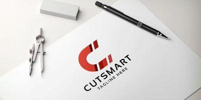 Cut Smart Letter C Logo