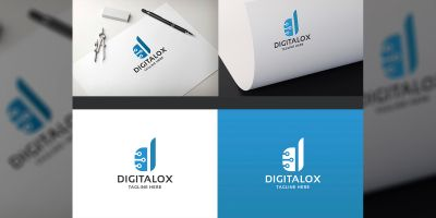 Digitalox Letter D Logo