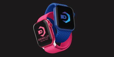 Digital Wallet Letter D Logo