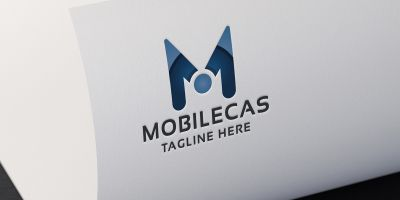 Mobilecas Letter M Logo