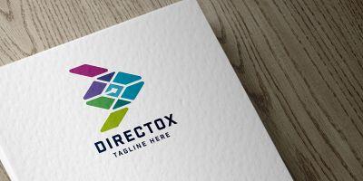 Directox Arrow Side Logo