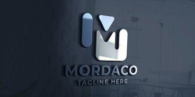 Mordaco Letter M Logo