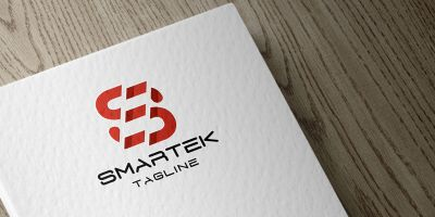 Smartek Letter S Logo