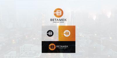 Betamek Letter B Logo