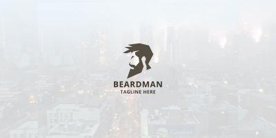 Beard Man Logo