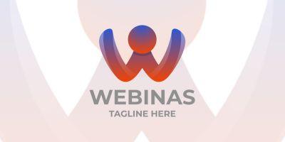 Webinas Letter W Logo