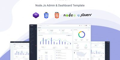 Nazox - Node.js Admin And Dashboard Template